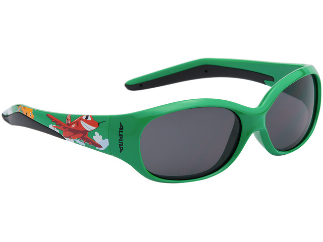 Alpina Flexxy Kids green plane